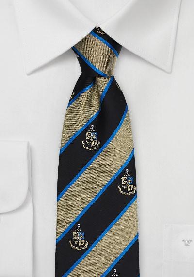 Phi Kappa Sigma Coat of Arms Silk Tie