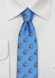 Woven Coat of Arms Tie for Phi Kappa Sigma