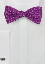 SAM Fraternity Silk Bow Tie