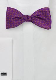 Silk Freestyle Bow Tie for Sigma Phi Epsilon