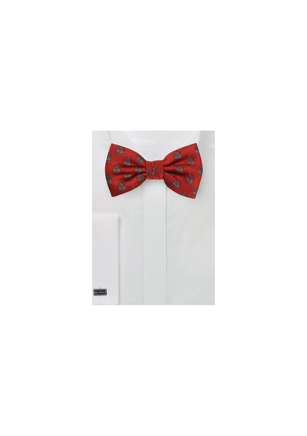 TKE Fraternity Crested Bow Tie