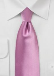 Orchid Pink Kids Tie