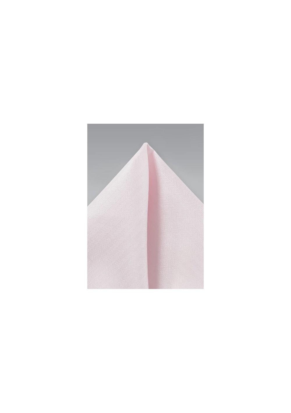 Textured Hanky in Blush Pink