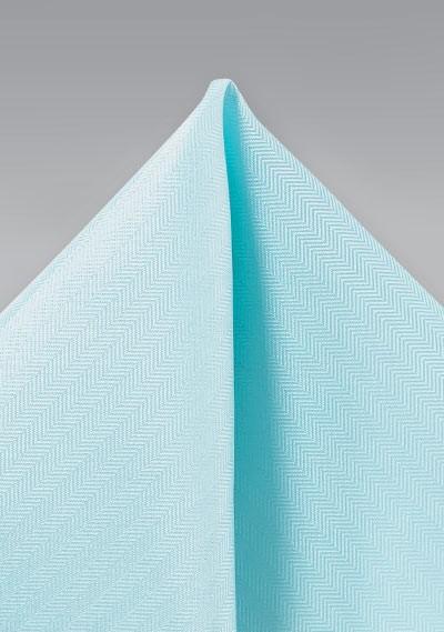 Pool Blue Textured Hanky
