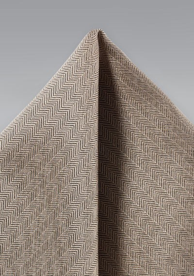 Bronze Gold Textured Hanky