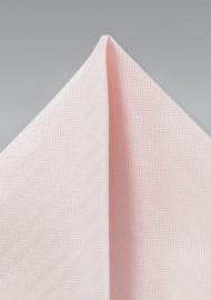 Textured Hanky in Peach Blush