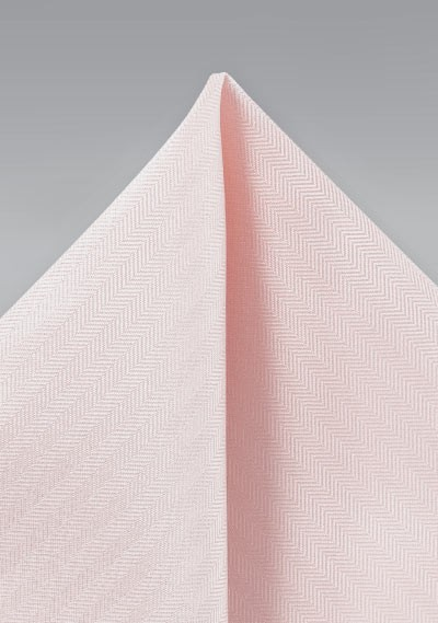 Textured Hanky in Peach Blush