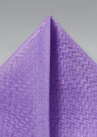 Pocket Square in Bright Violet