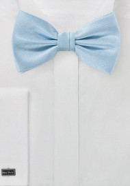 Powder Blue Men's Bow Tie