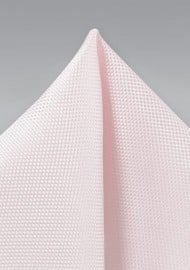 Wedding Pocket Square in Blush