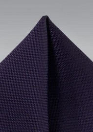 Matte Pocket Square in Italian Plum