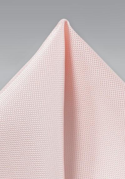 Peach Blush Matte Finish Pocket Square
