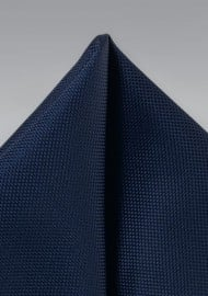 Midnight Pocket Square in Matte Finish