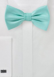 Textured Bowtie in Beach Glass
