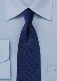 Menswear Navy Textured Tie