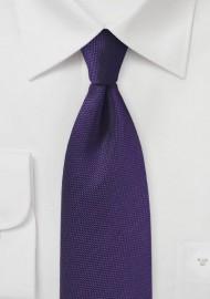 Regency Purple Matte Finish Tie