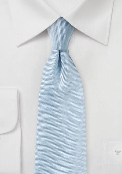 Summer Matte Finish Tie in Powder Blue