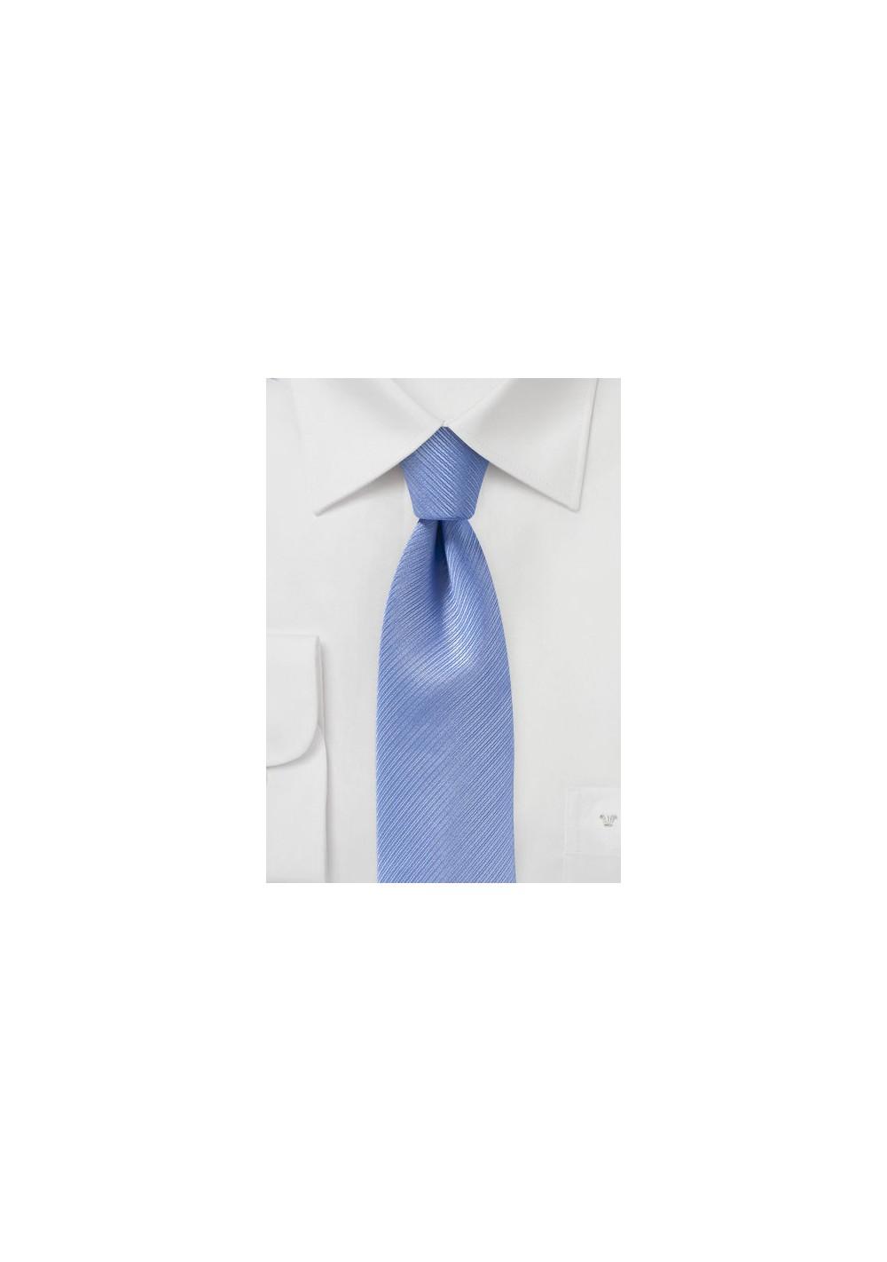 Slim Cut Tie in Sky Blue