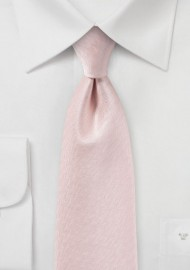 Peach Blush Textured Necktie