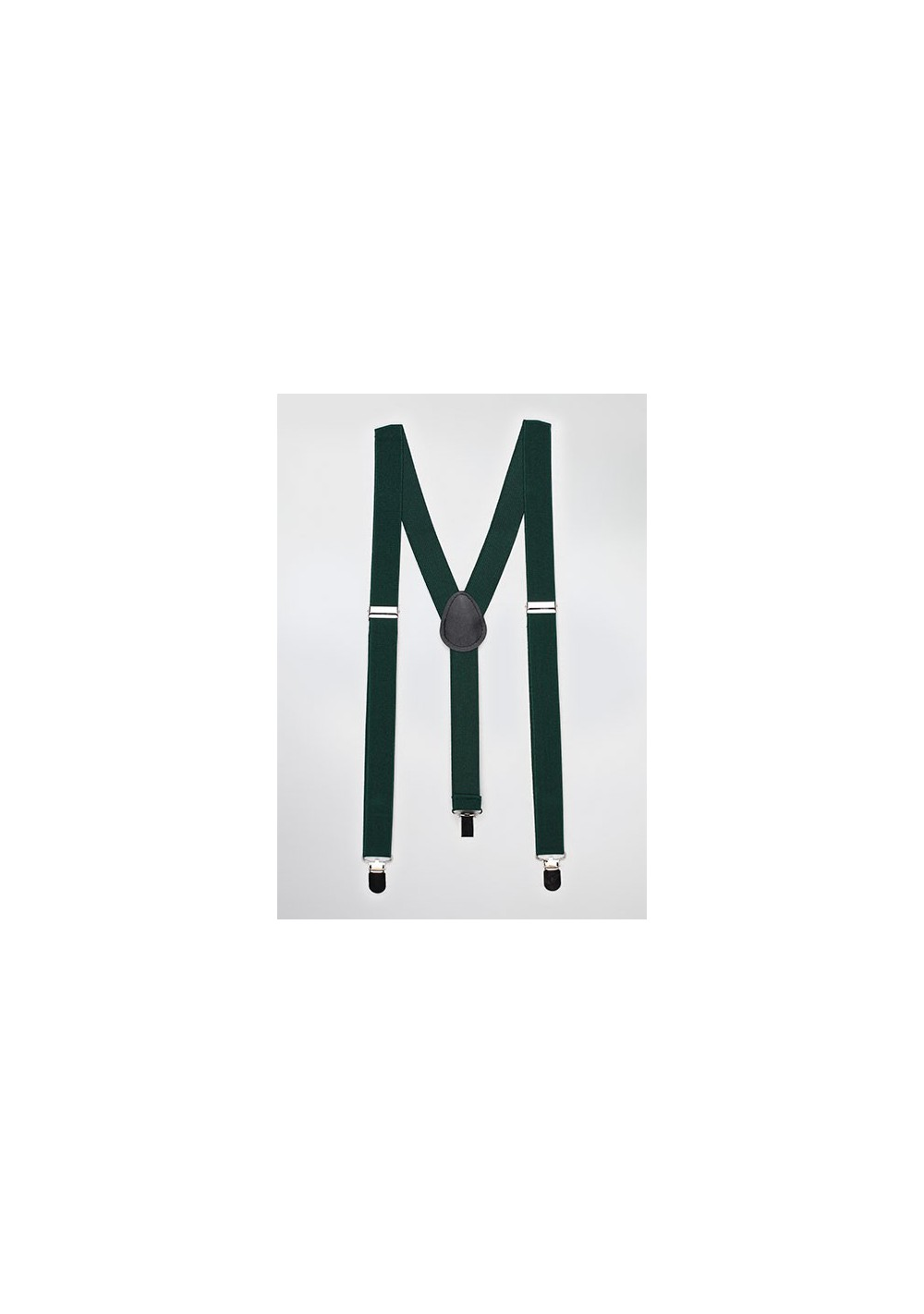 Suspenders in Hunter Green