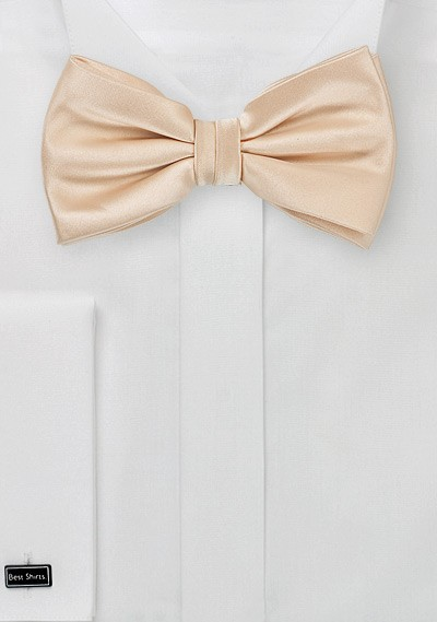 Champagne Kids Bow Tie