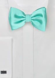 Kids Bow Tie in Beach Glass