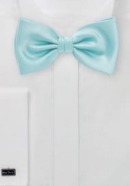 Kids Bow Tie in Pool Blue