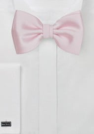 Blush Pink Kids Bowtie