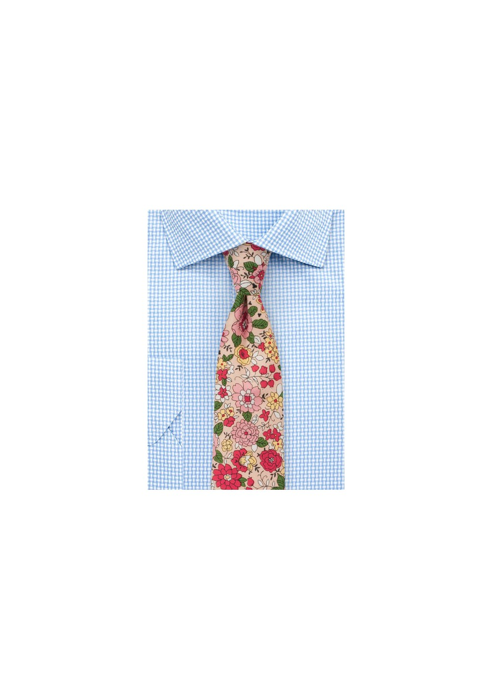 Graphic Floral Print on Finest Cotton