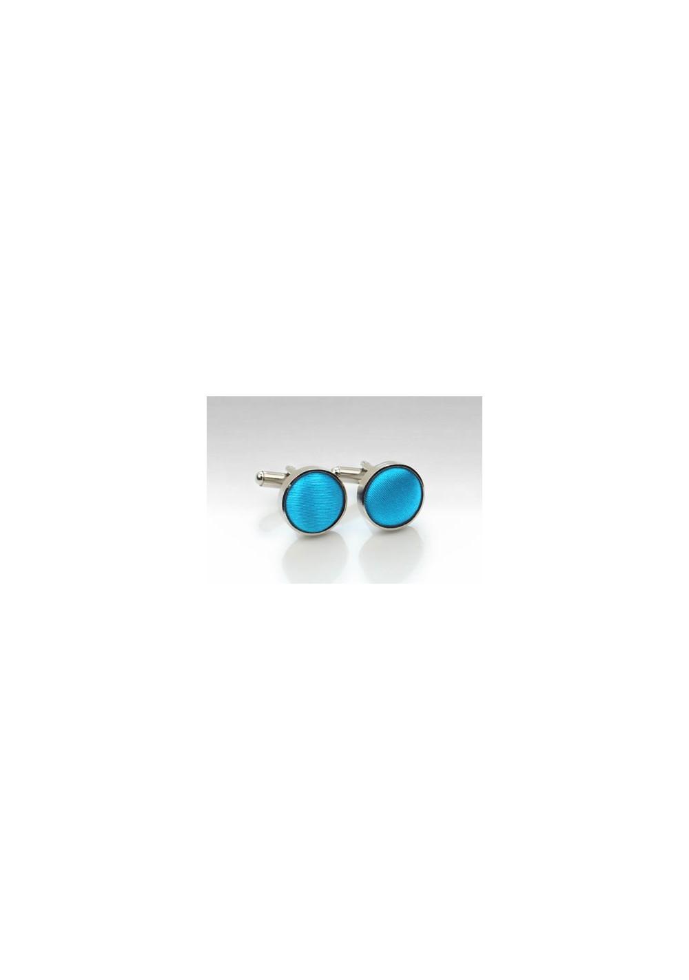 Cyan Blue Cufflinks