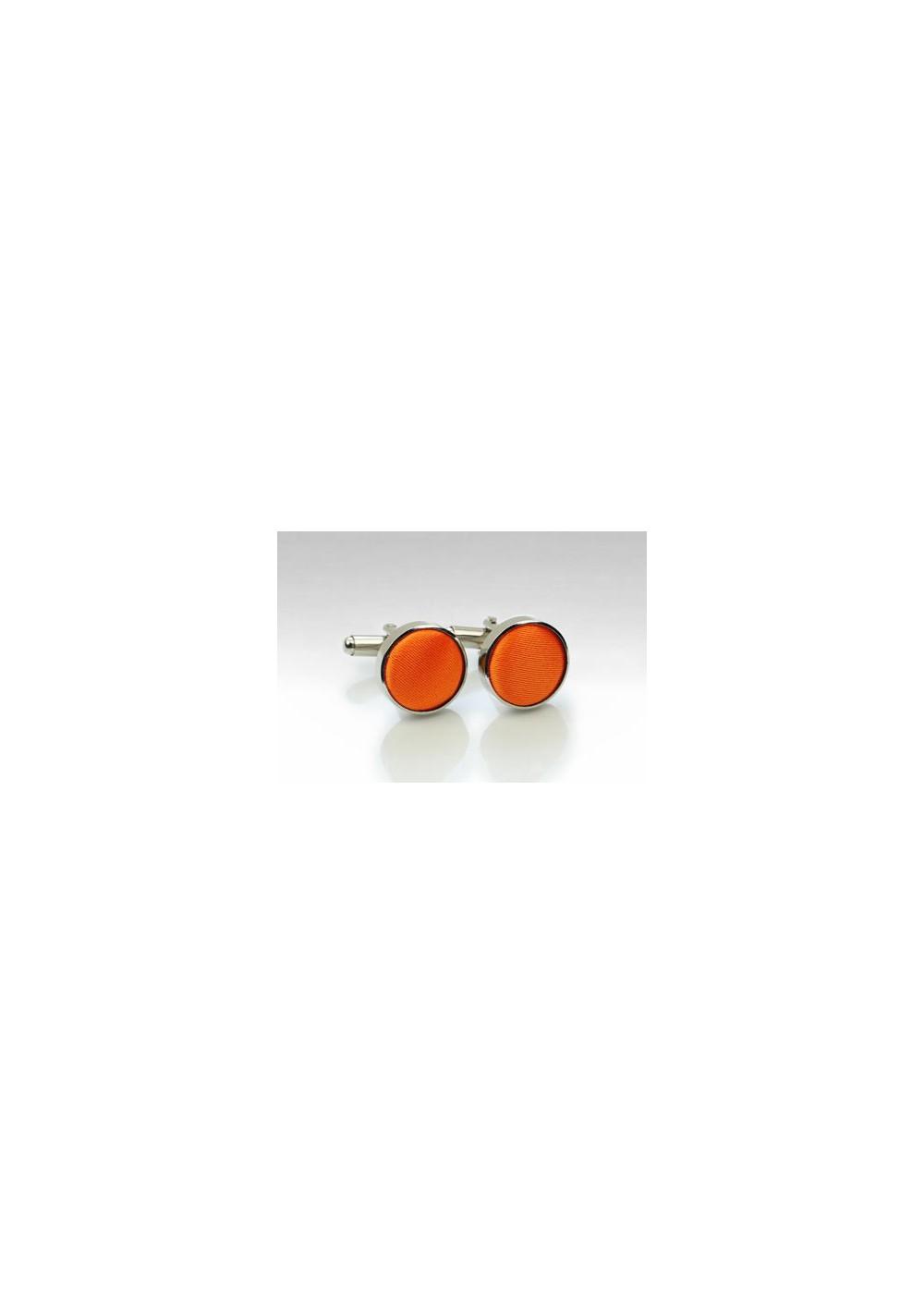 Bright Orange Cufflinks