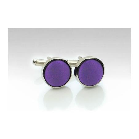 Cufflinks in Purple