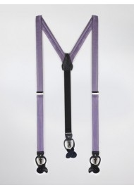 Wisteria Colored Suspenders