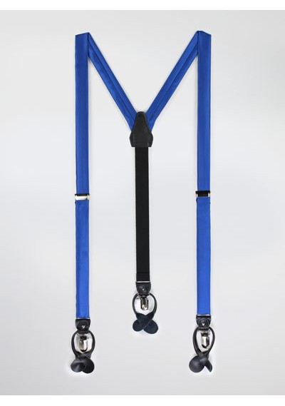 Azure Blue Mens Suspenders