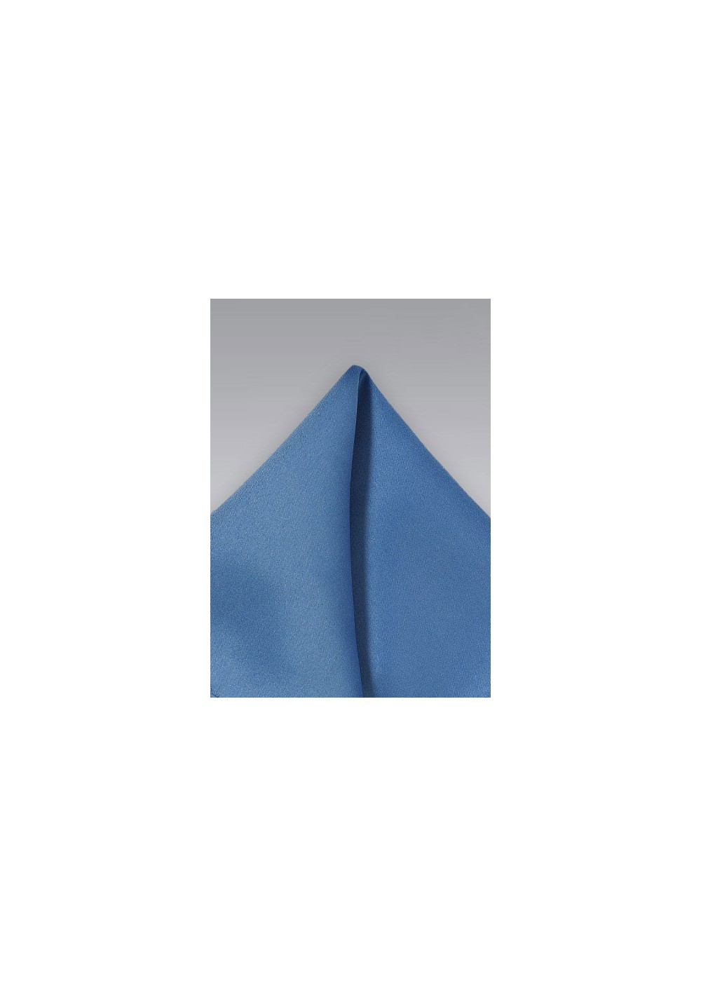 Steel Blue Mens Hanky