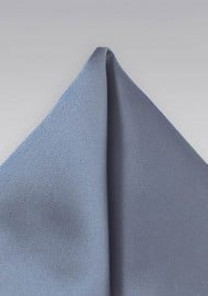 Slate Blue Pocket Square