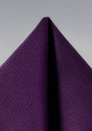 Formal Hanky in Italian Plum