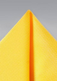 Suit Pocket Square in Daffodil