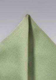 Light Jade-Green Pocket Square