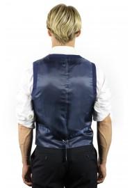 blue vest