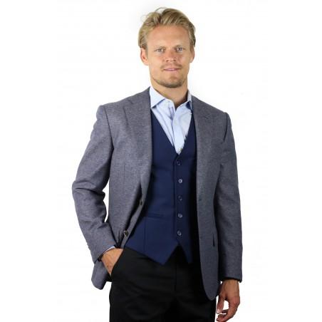 suit vest navy