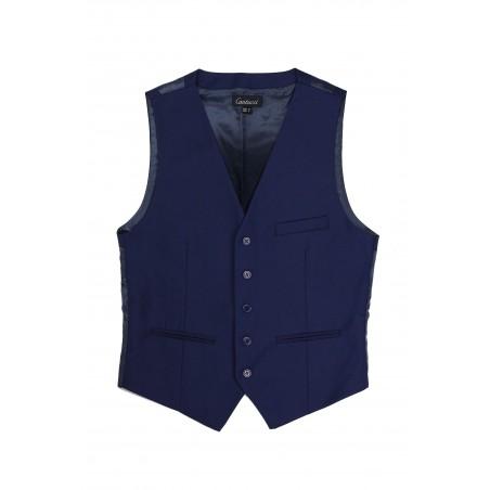 suit vest in navy