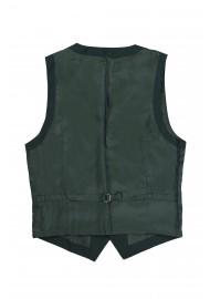 suit vest green backside