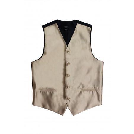 golden mens tuxedo vest prom weddings