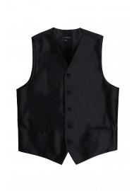 formal black tuxedo wedding prom vest