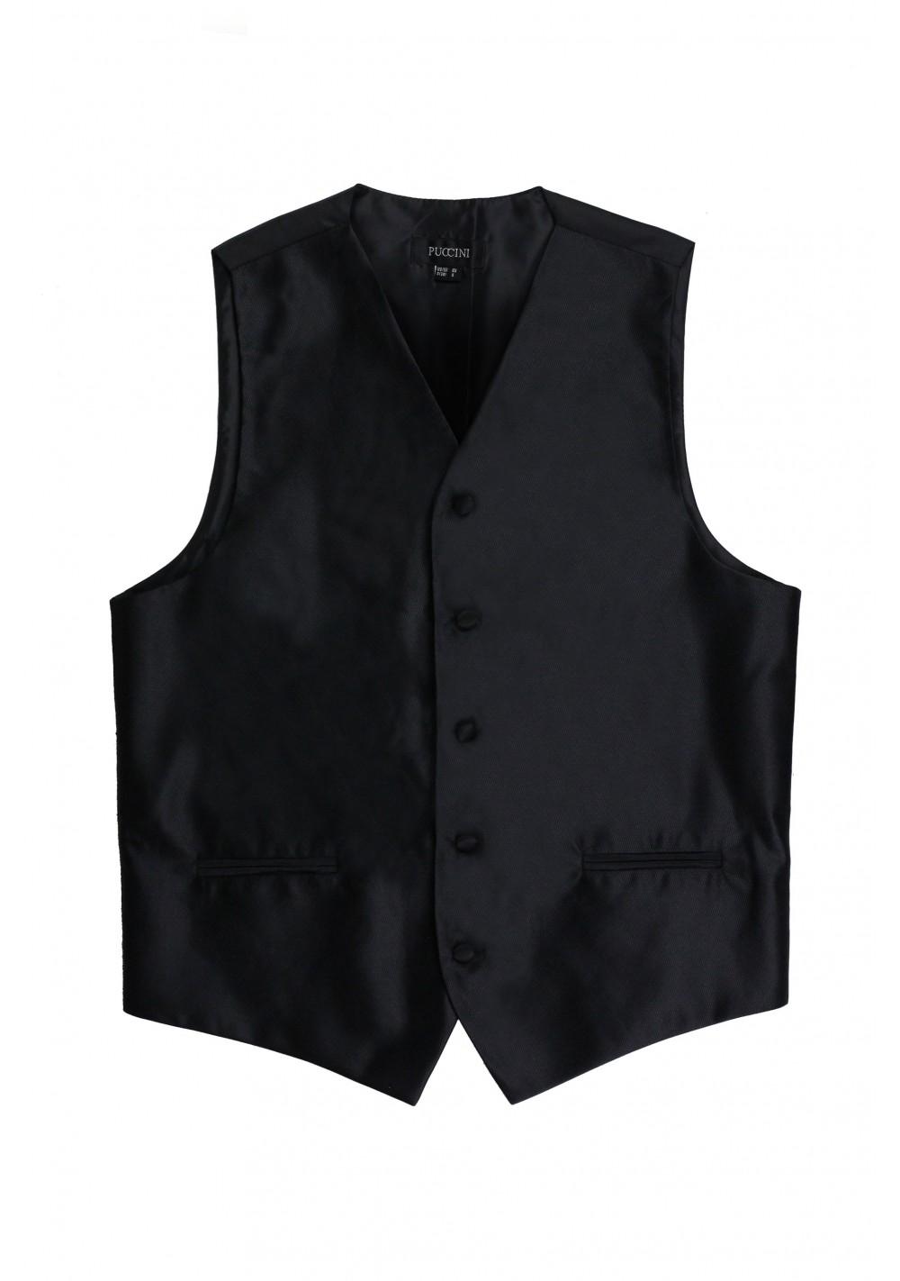 formal black tuxedo wedding prom vest