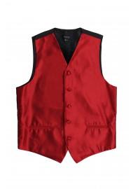 cherry red tuxedo mens vest