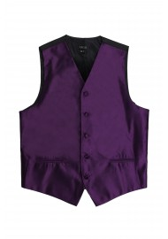 plum purple dress vest