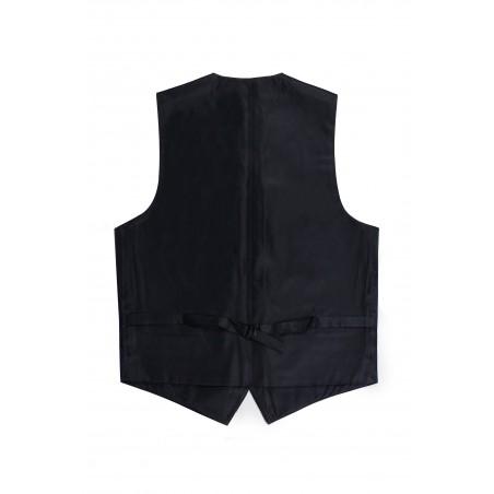 dark blue dress vest