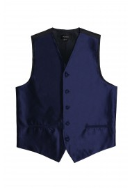 dark navy wedding formal vest mens